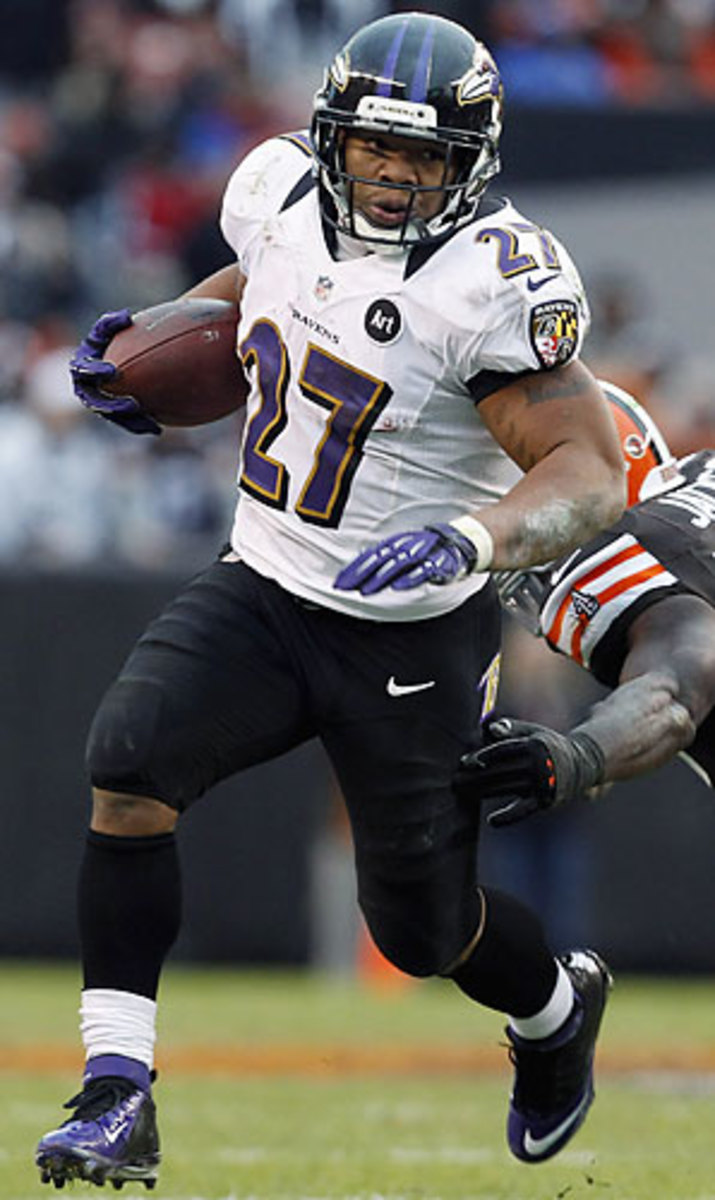 With Jim Caldwell now coordinating the offense in Baltimore, Ray Rice is expected to become a bigger part of the Ravens' offense.