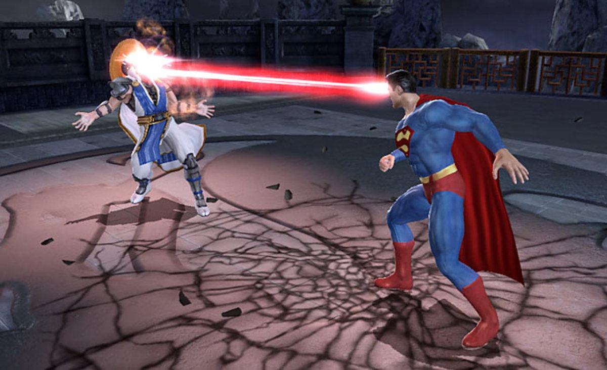 Mortal Kombat Vs. DC Universe   Xbox 360, PS3   Midway