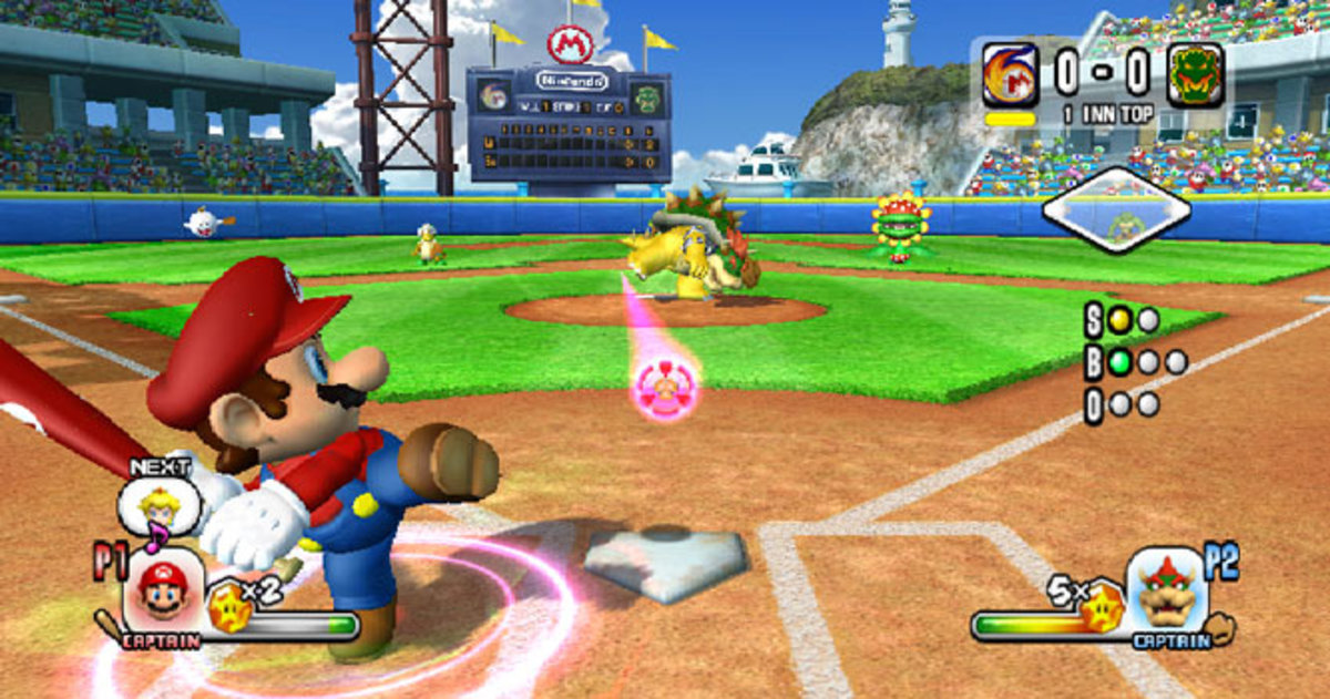 Mario Super Sluggers   Wii   Nintendo