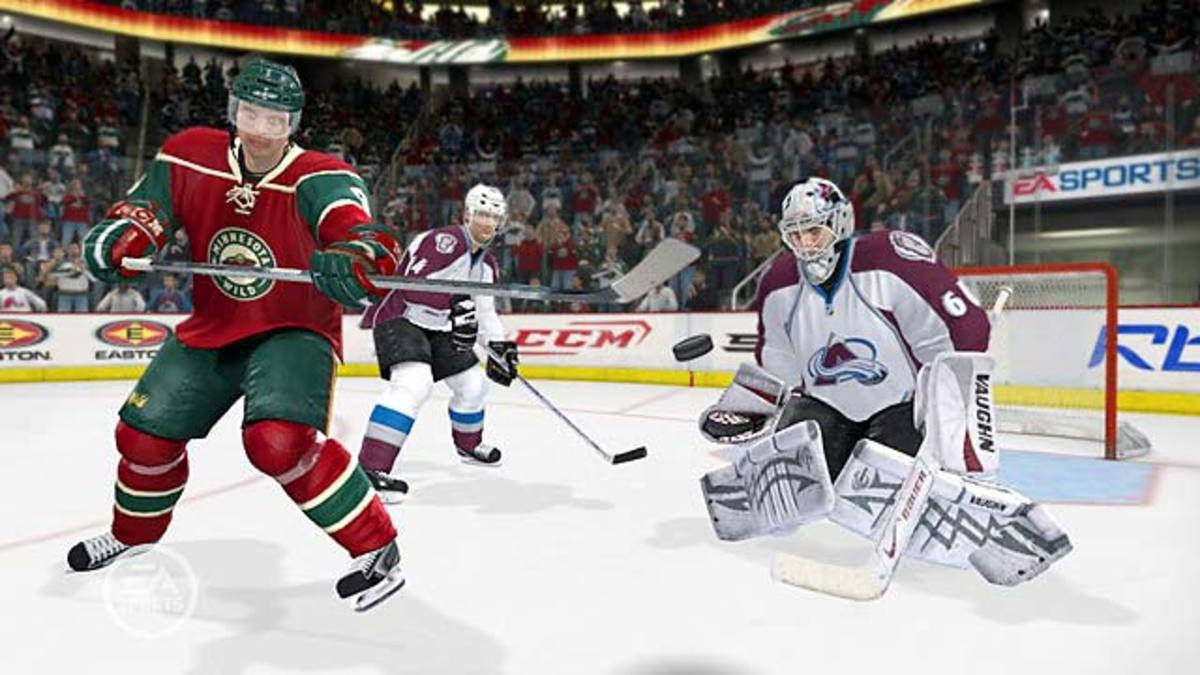 NHL 09 | Xbox 360, PS3, PS2 | EA Sports