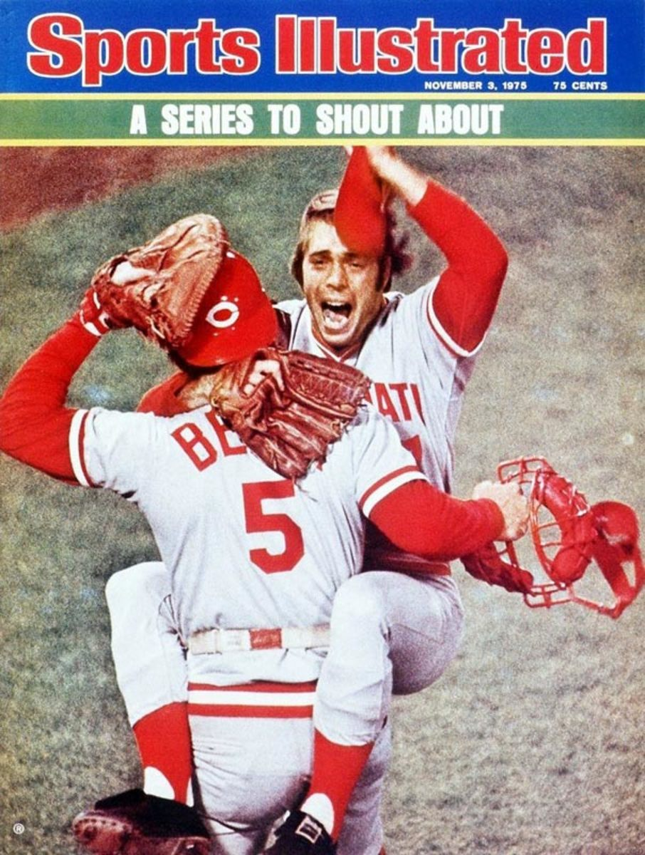 Johnny Bench and Wil McEnaney