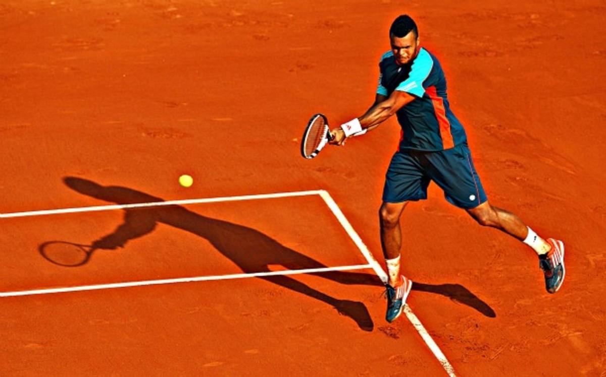 Jo-Wilfried Tsonga, Roland Garros Round 1