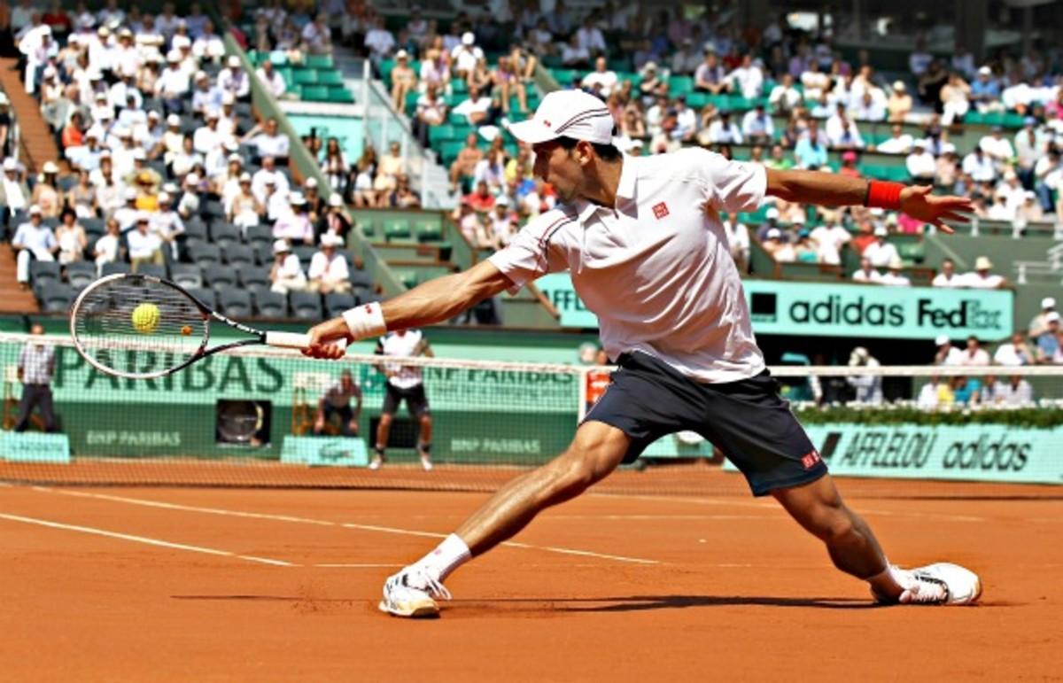 Novak Djokovic, Roland Garros Round 1