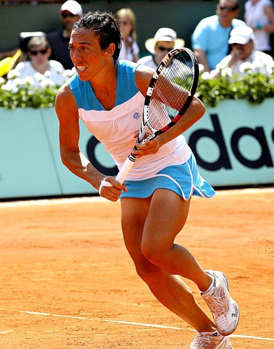 Francesca Schiavone, Roland Garros Round 1