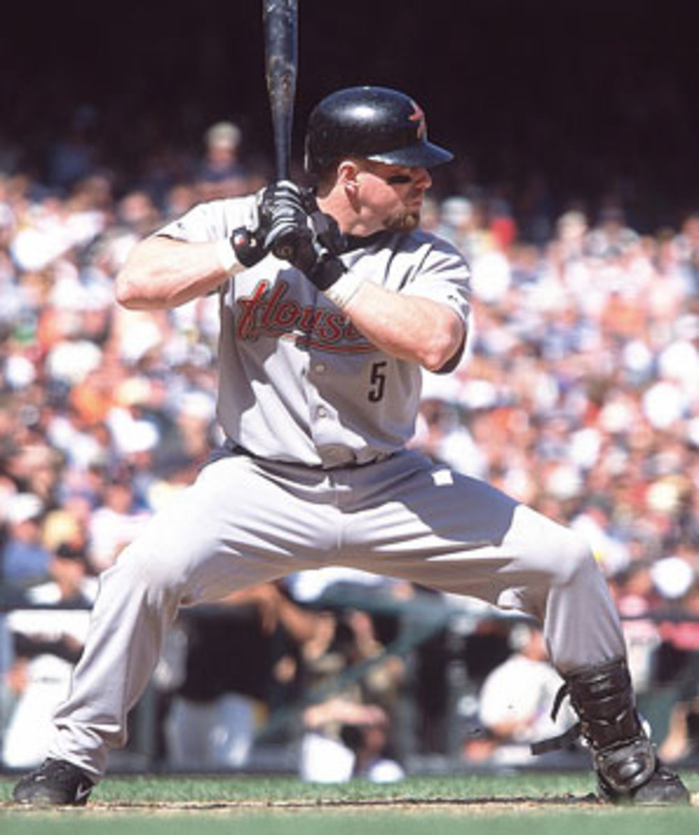 Voters are taking a variety of stances on Jeff Bagwell's career. (Brad Mangin/SI)
