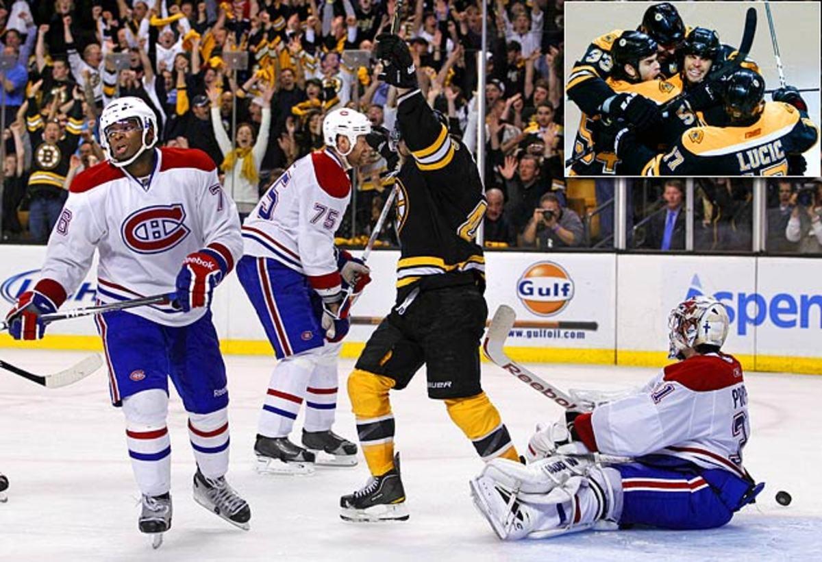 Bruins slip by Habs in seven