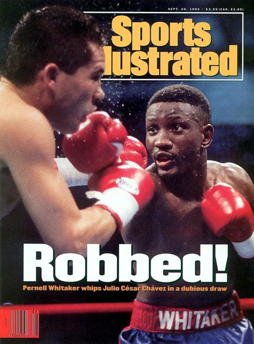 Julio Cesar Chavez draw with Pernell Whitaker