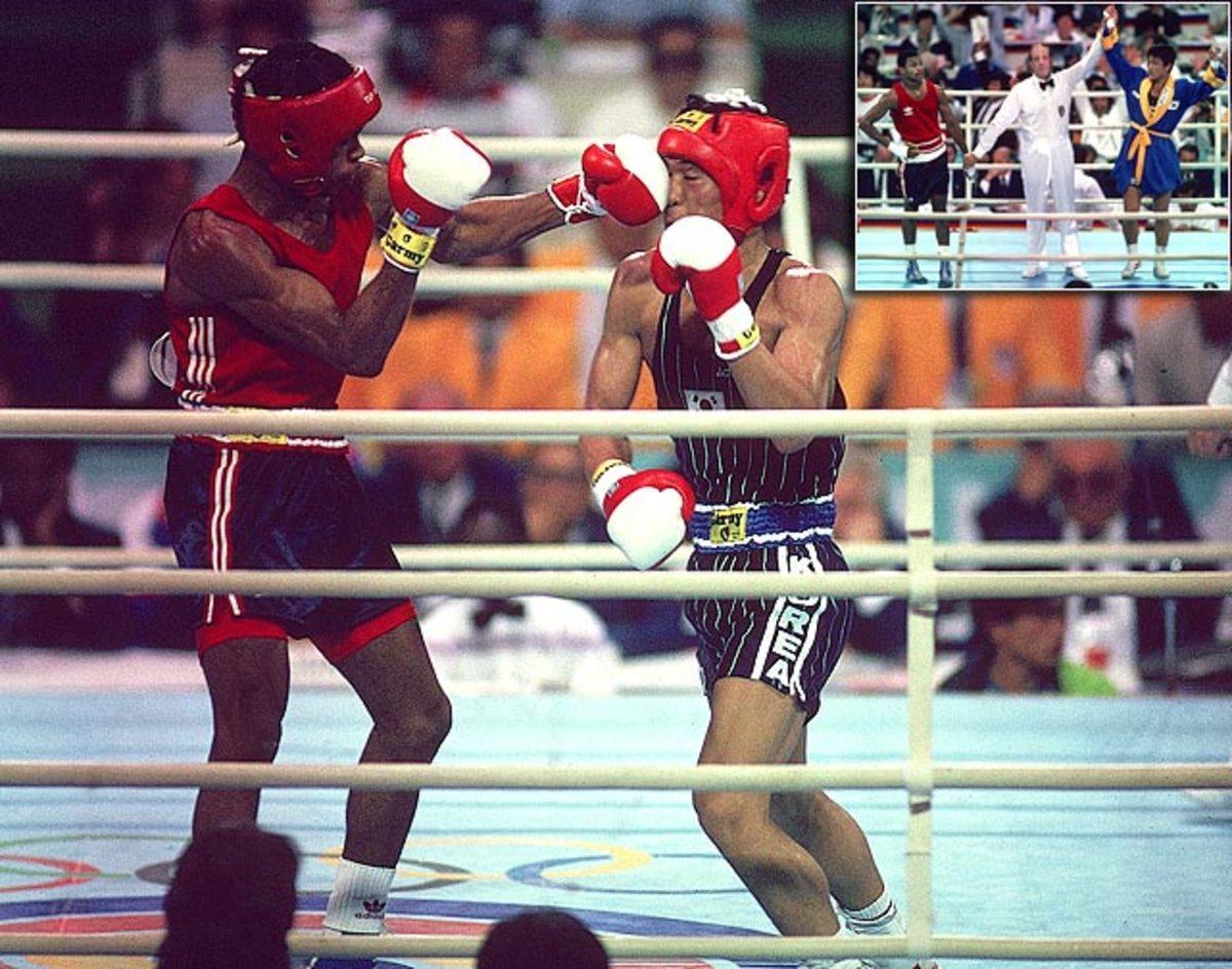 Park Si-Hun win over Roy Jones Jr. by split decision
