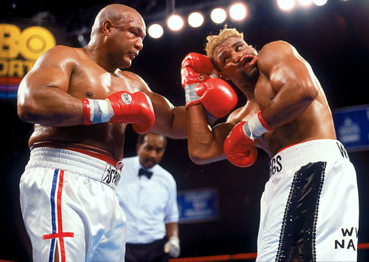 Shannon Briggs win over George Foreman by majority decision