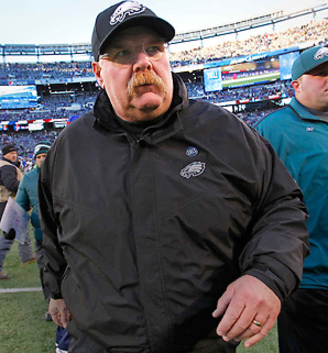 After 14 seasons, the Andy Reid era in Philadelphia is over. (Hunter Martin/Getty Images)