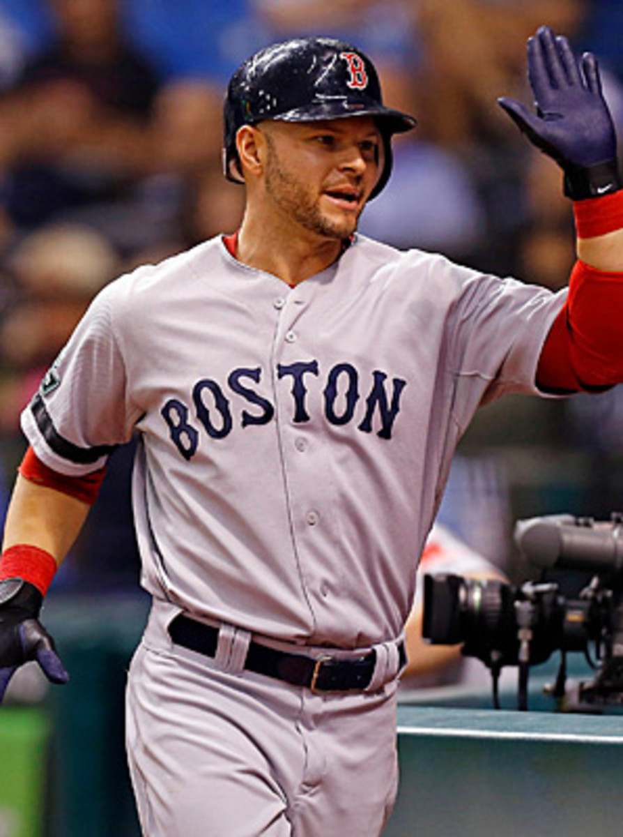 Cody Ross hit .267 with 22 home runs and 18 RBIs last season for Boston.