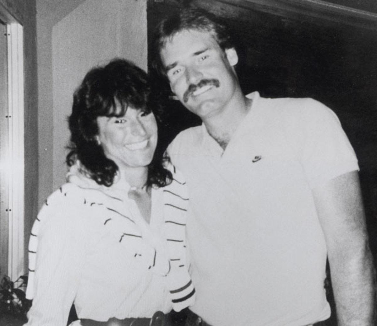 Margo Adams and Wade Boggs