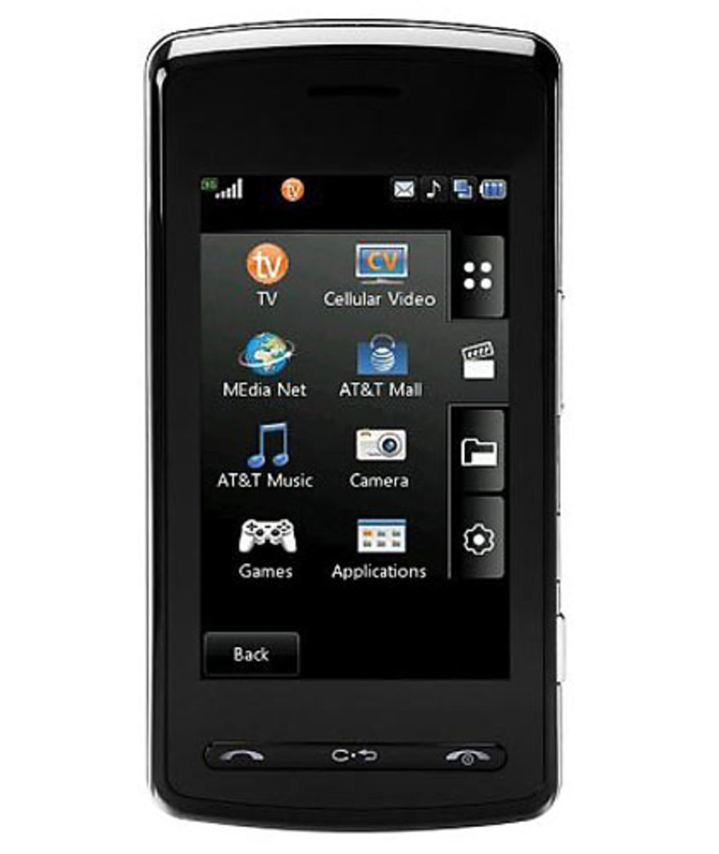 LG Vu Mobile Phone with FLO TV
