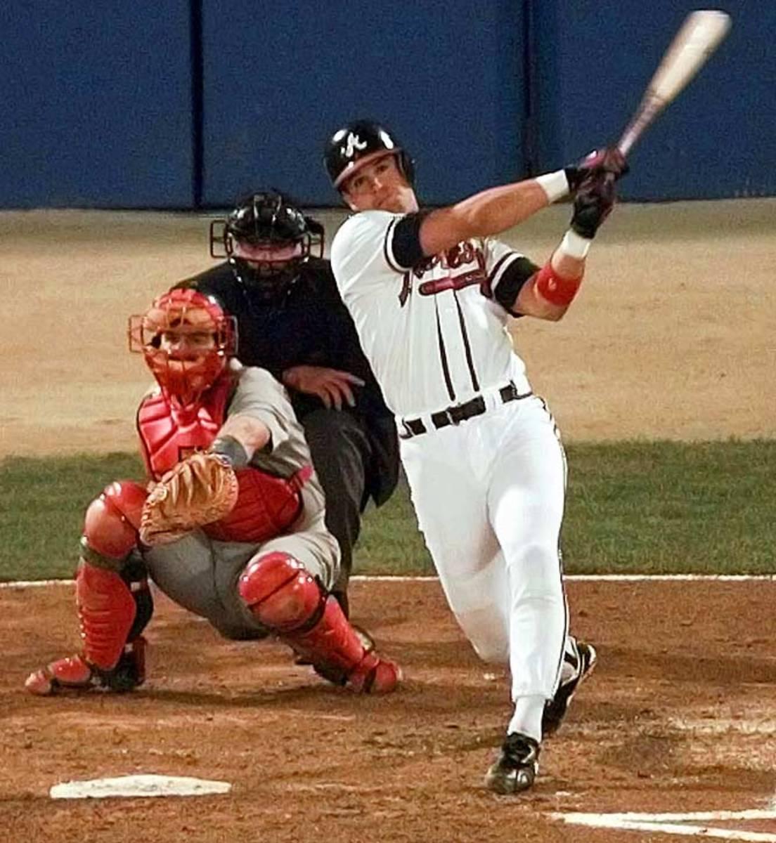 1996 NLCS, Braves defeat Cardinals