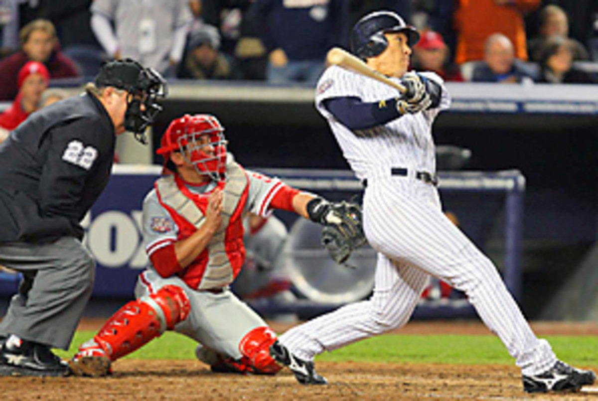 Hideki Matsui was the MVP of the 2009 World Series.