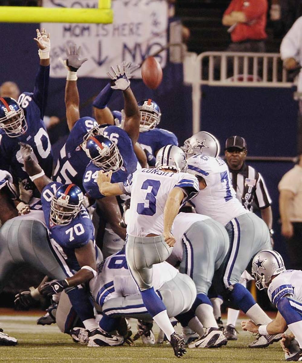 Cowboys 35, Giants 32 (OT)