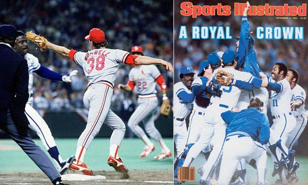 1985 World Series, Royals defeat Cardinals