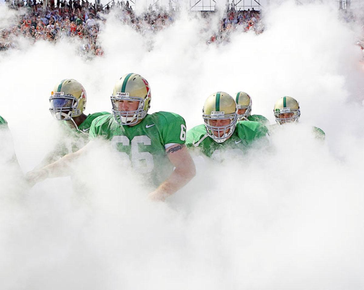 "University of Miami ""Hurricane cloud"""