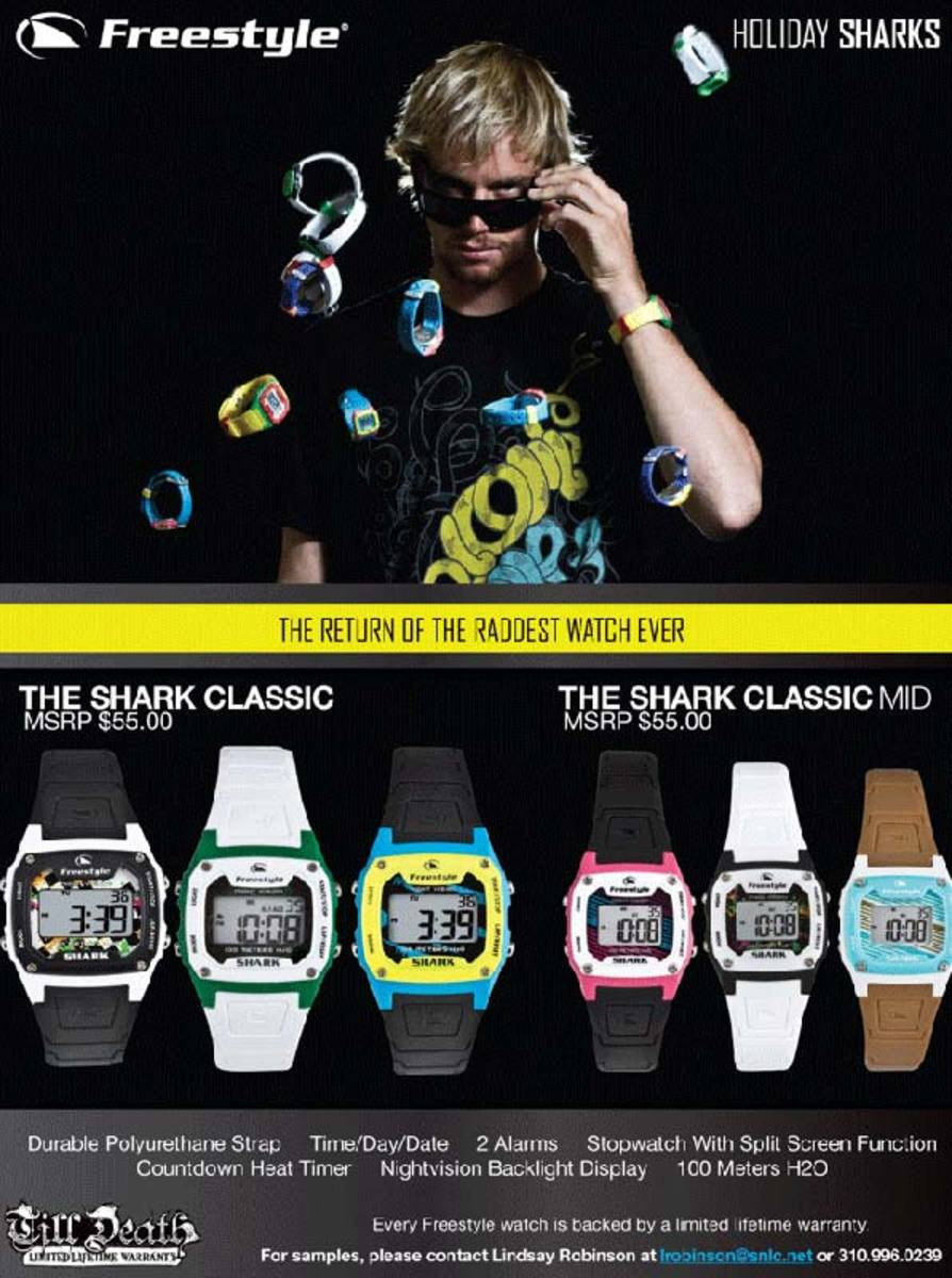 Freestyle The Shark Classic watches