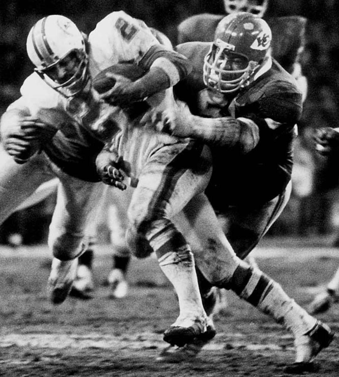 Willie Lanier, Linebacker