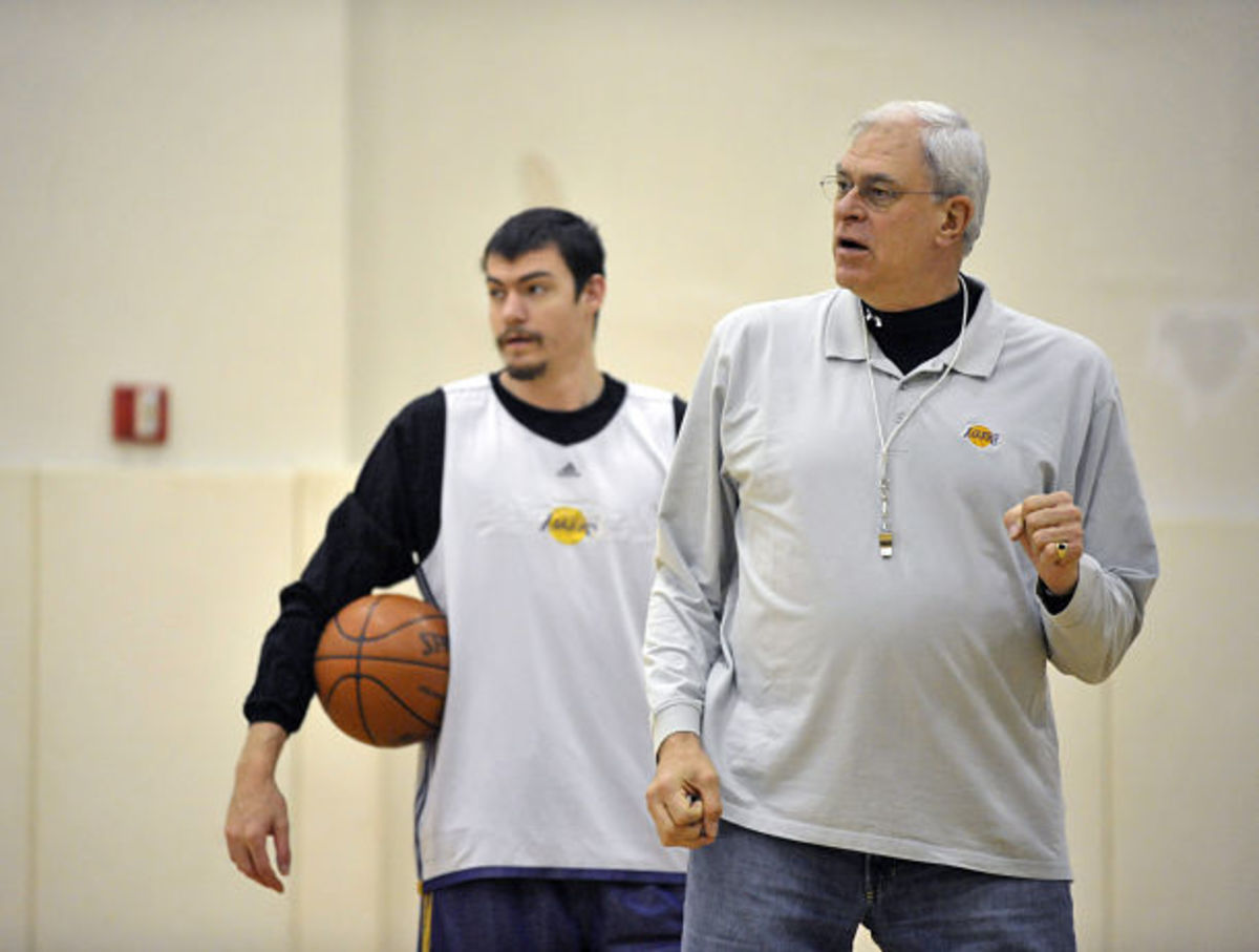 Los Angeles Lakers Practice In New York City