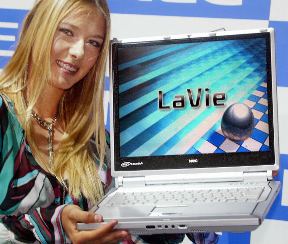 Sharapova Laptop