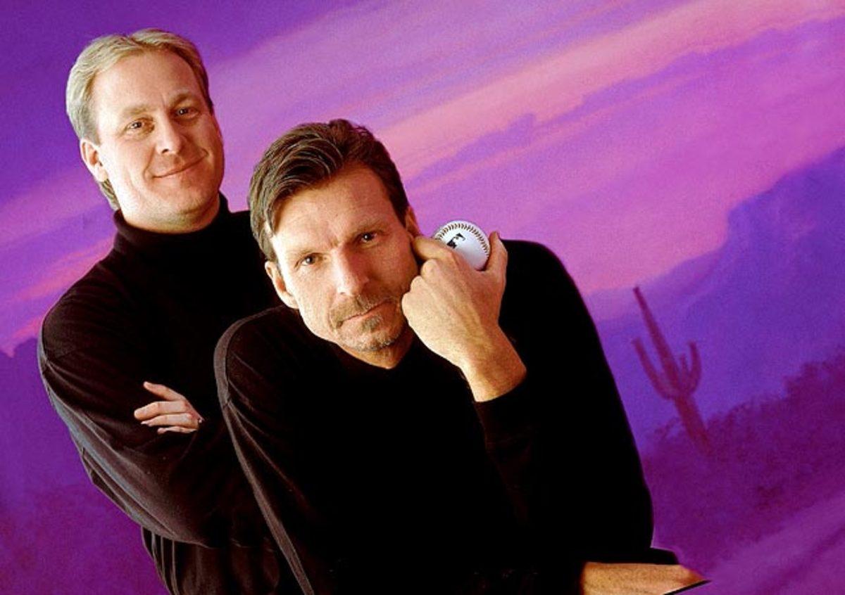 Randy Johnson & Curt Schilling