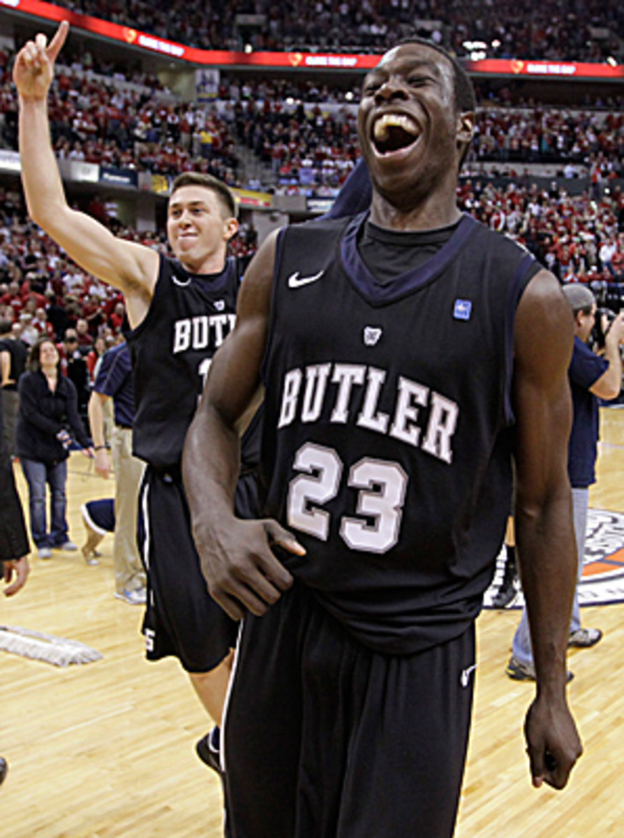 Butler, which upset No. 1 Indiana over the weekend, would bring a strong basketball program and a large media market to the proposed league.