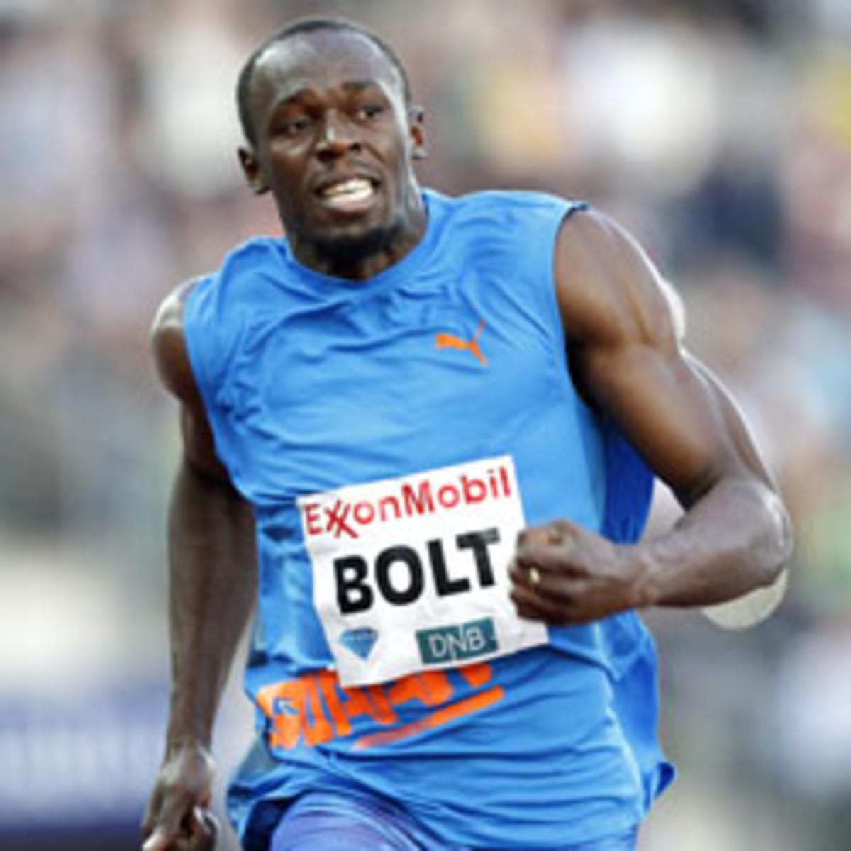 Usain Bolt Gold medalist Olympics