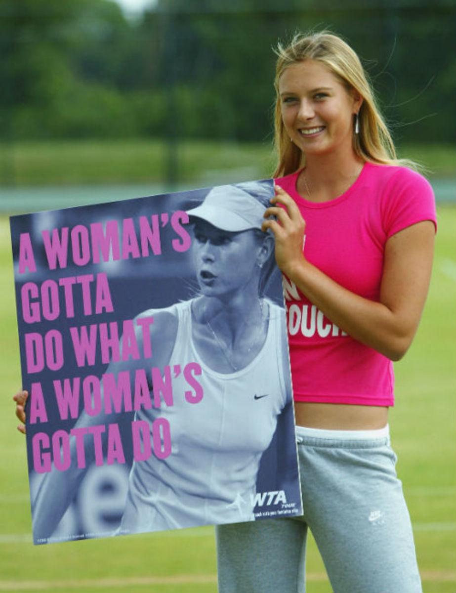 Sharapova WTA