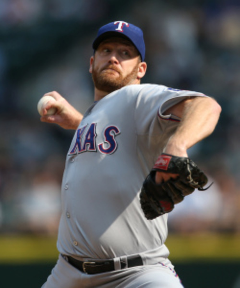Ryan Dempster is close to a deal with the Red Sox. (Otto Greule Jr/Getty Images)