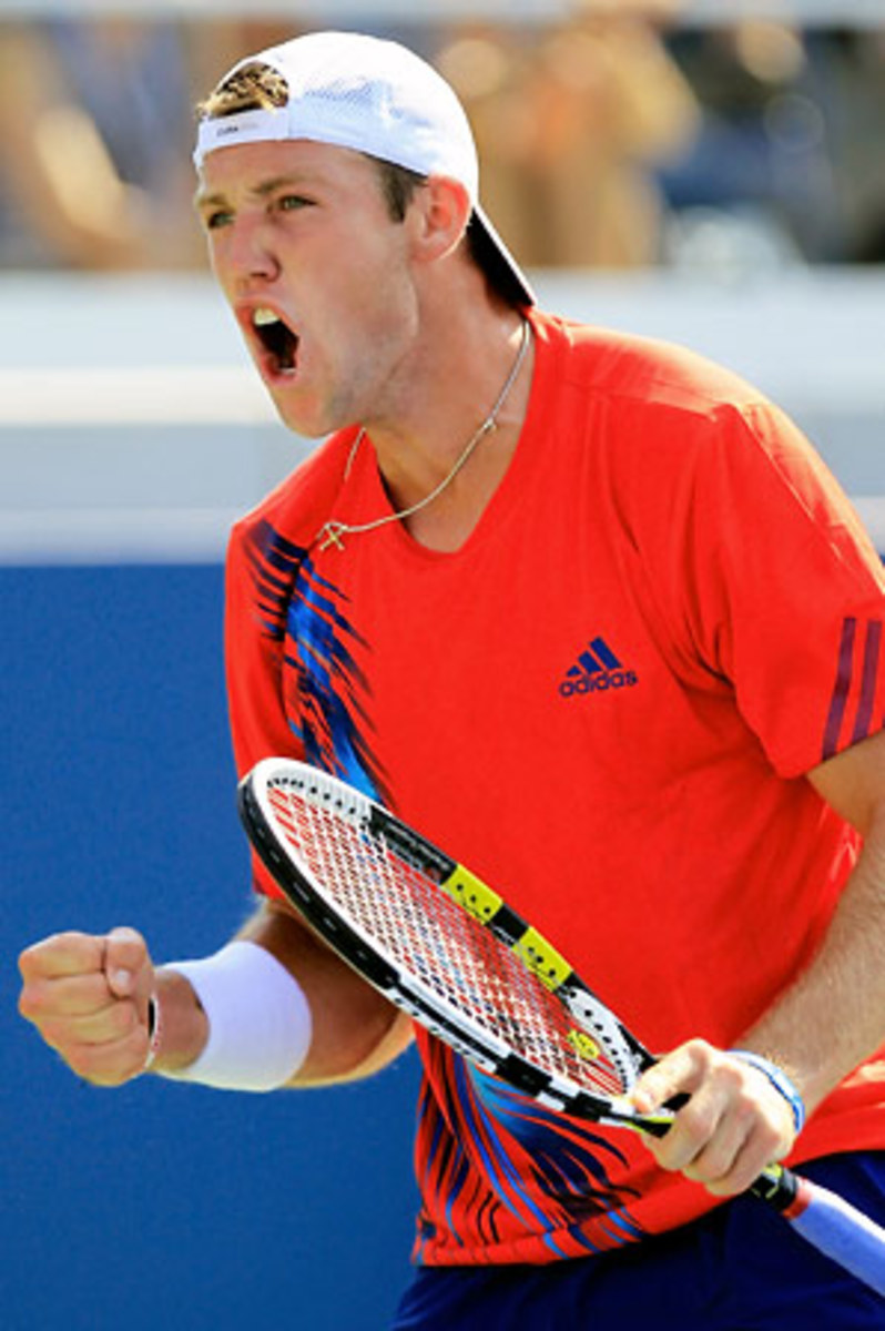 Jack Sock saved 12 of the 13 break points he faced while converting all six he earned on Flavio Cipolla's serve.