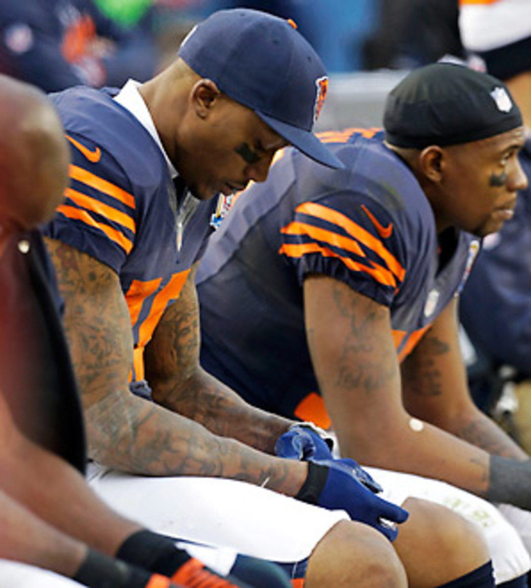 The Bears are just 1-5 after starting the season 7-1. (Nam Y. Huh/AP)