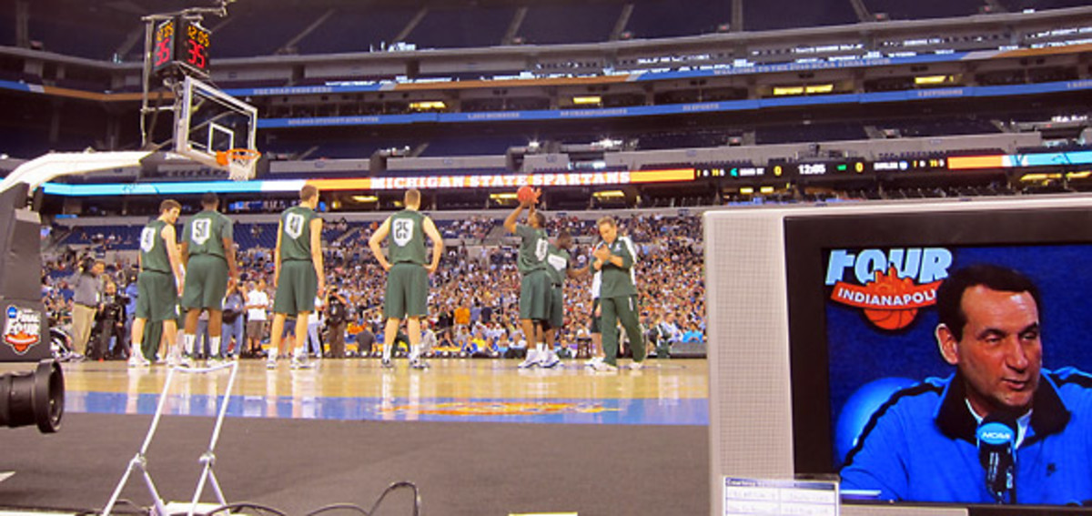 Michigan State open practice