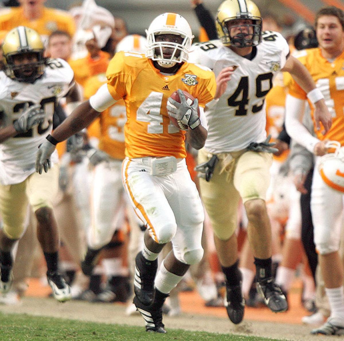 No. 19 Tennessee 25, Vanderbilt 24