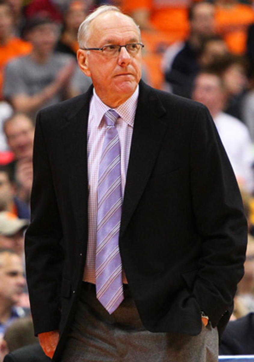 After beating Canisius on Saturday, Jim Boeheim is one win shy of 900 for his career.