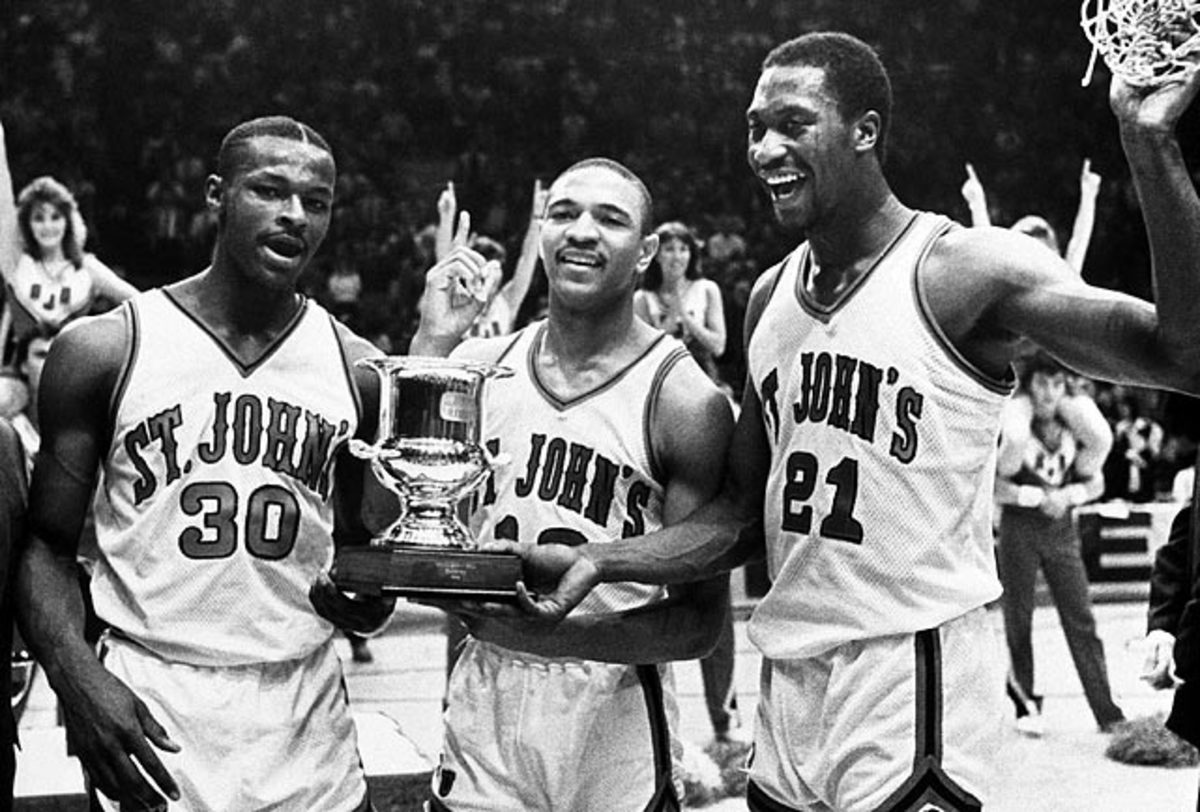 Willie Glass, Mark Jackson and Walter Berry