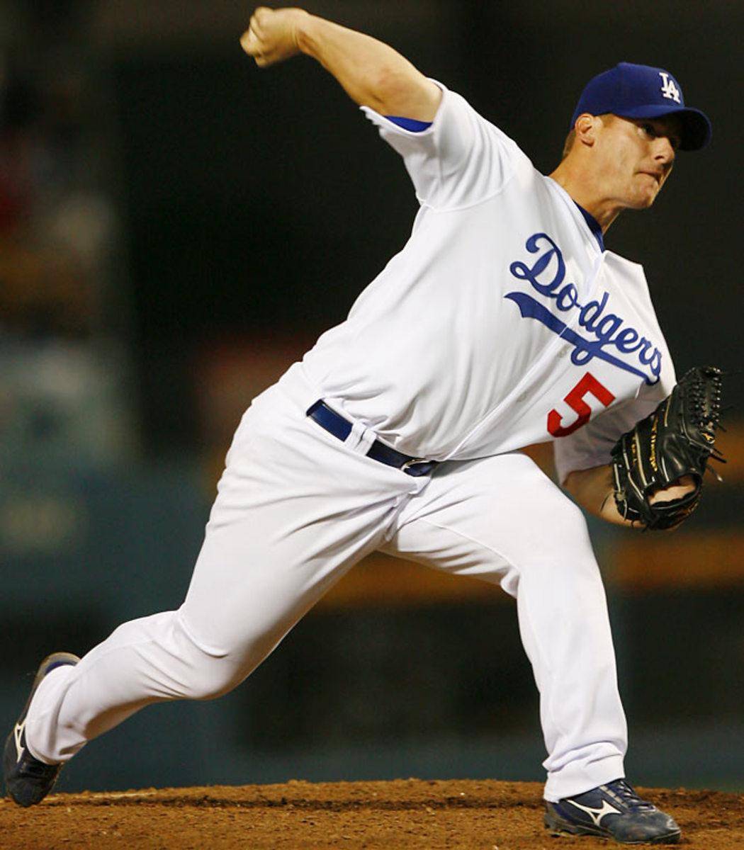 Chad Billingsley, 23, Dodgers