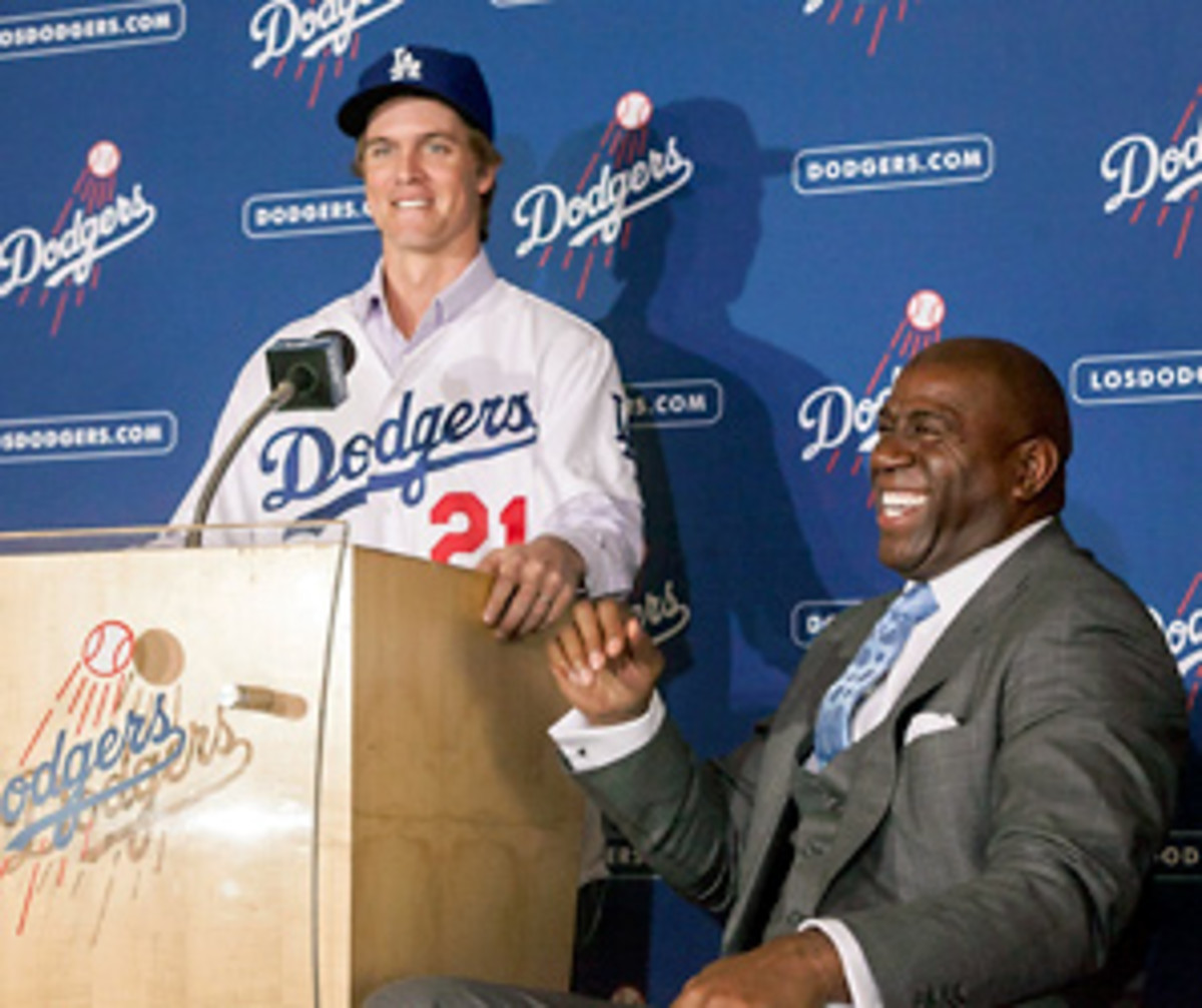 Zack Greinke got a $12 million signing bonus to go along with his $17 million salary in '13.