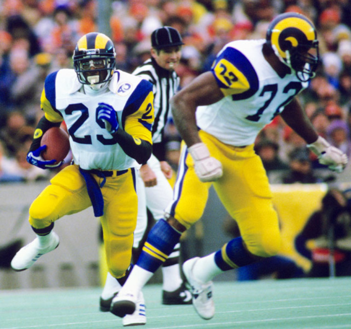 Eric Dickerson: 193 yards, 2 TDs