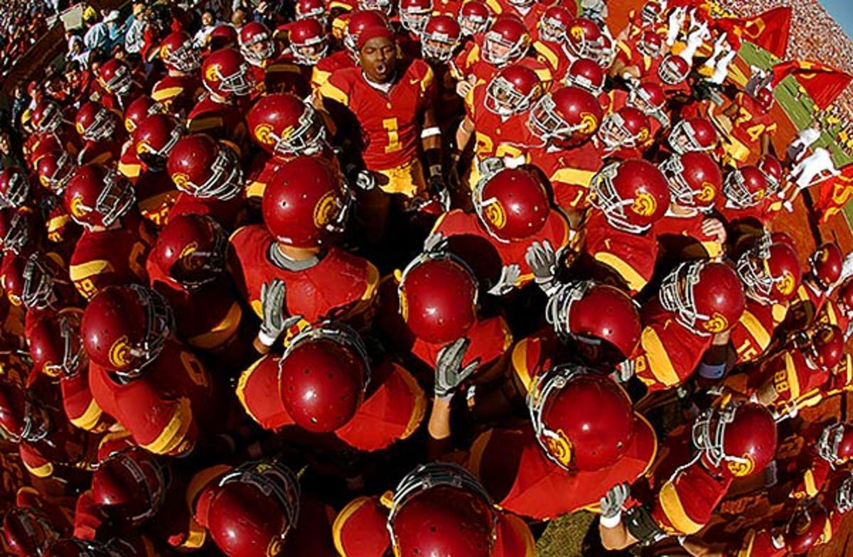 USC Pregame Huddle