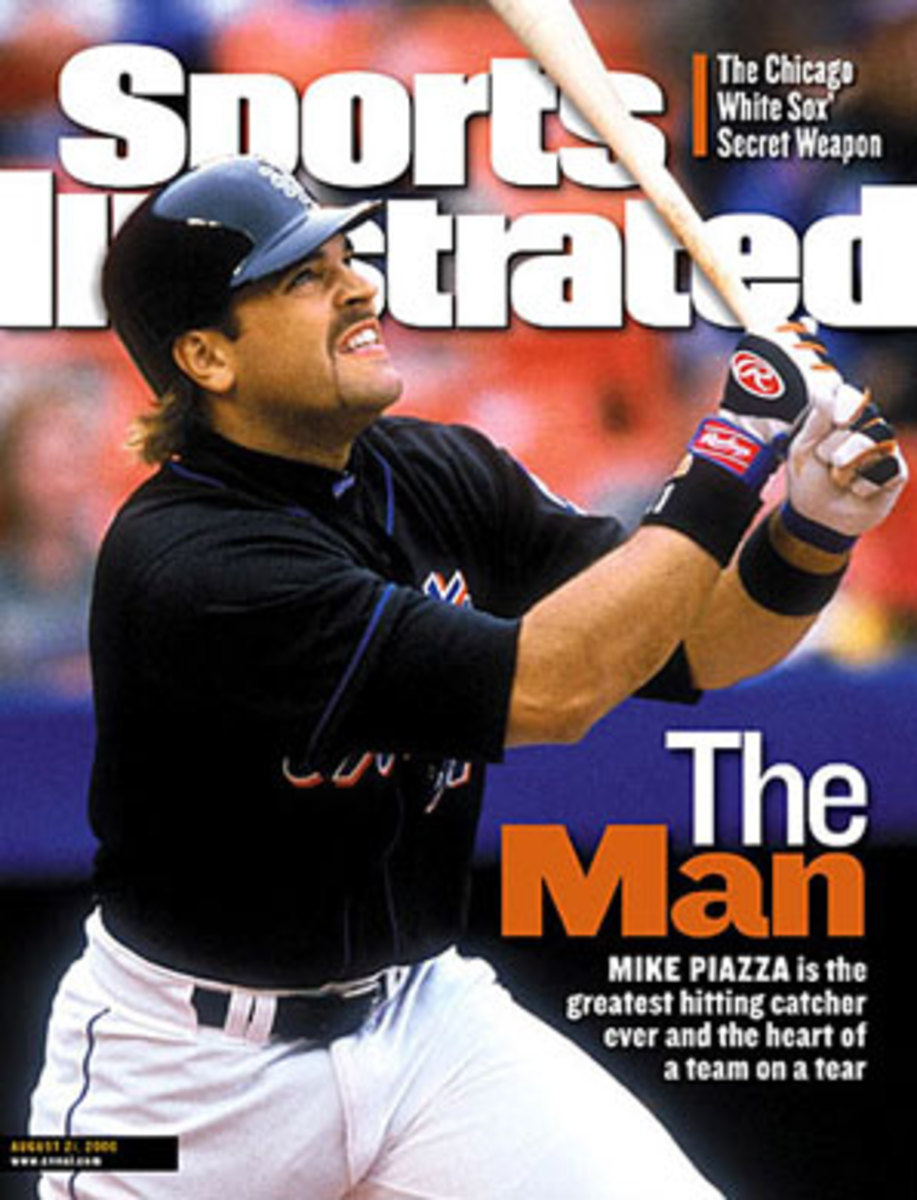 At his peak, Mike Piazza was already thought of as a legend. (John Iacono/SI)