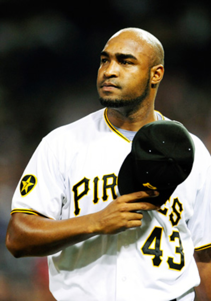 Jose Veras has now been with six different teams -- including the Pirates in 2011 -- since 2009.