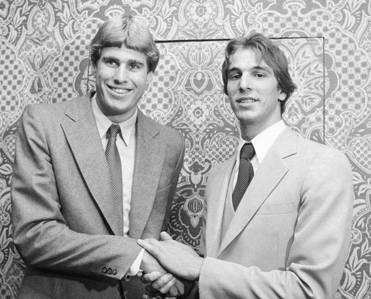 Mike Gminski and Mike O'Koren