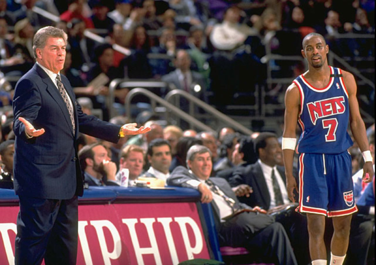 Chuck Daly and Kenny Anderson