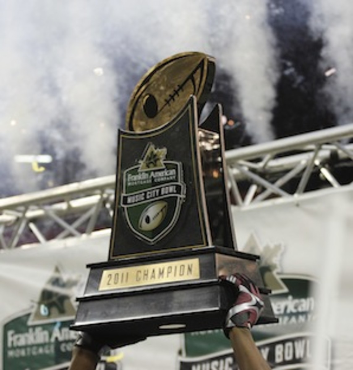 The Music City Bowl: There's a trophy and everything! (AP)