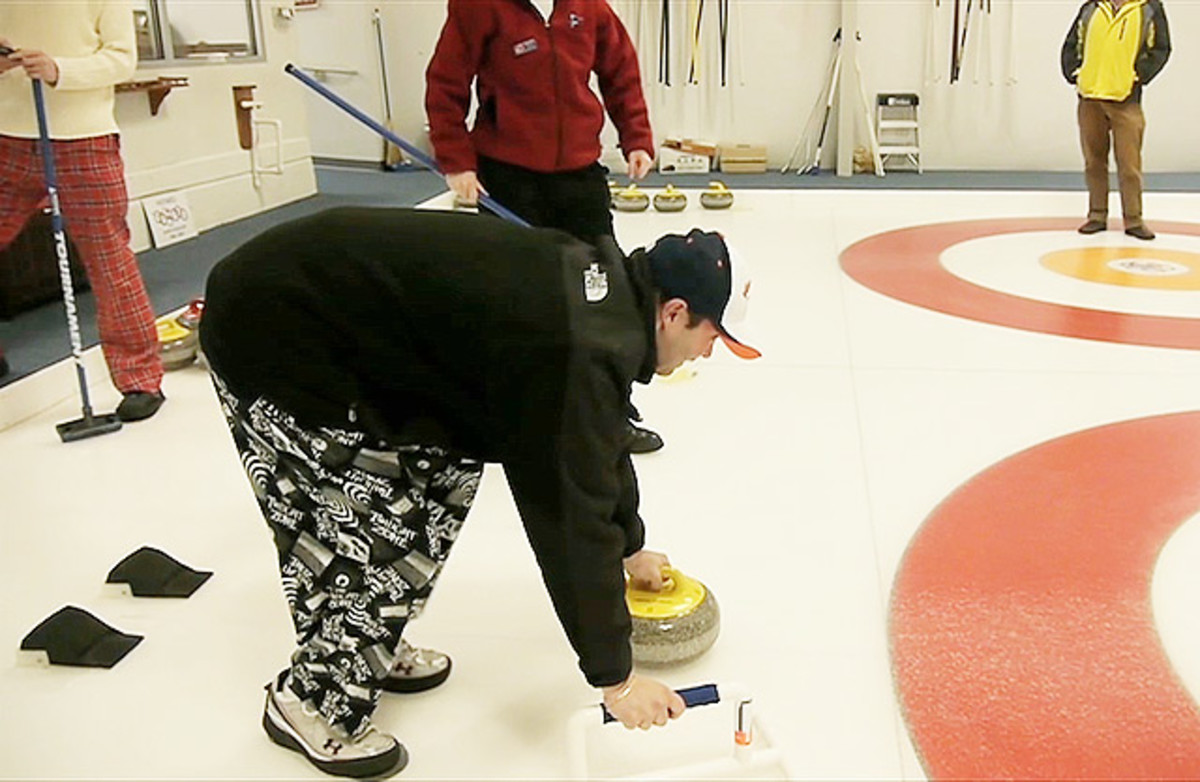 Danettes go curling