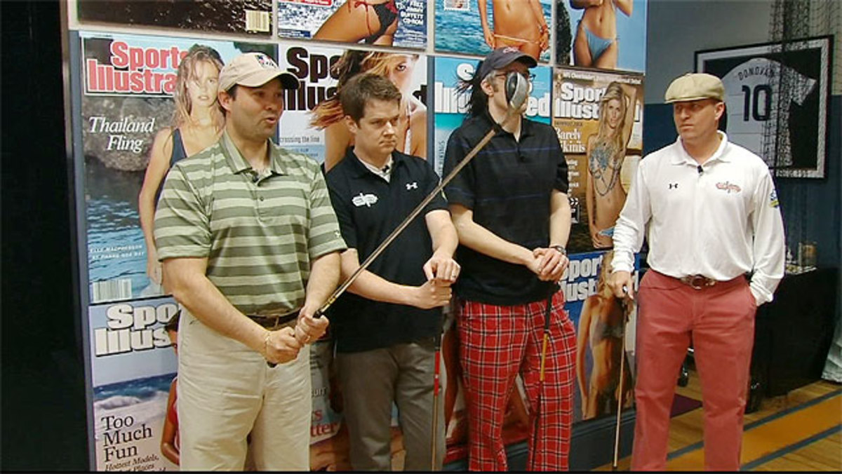 Danettes discover golf