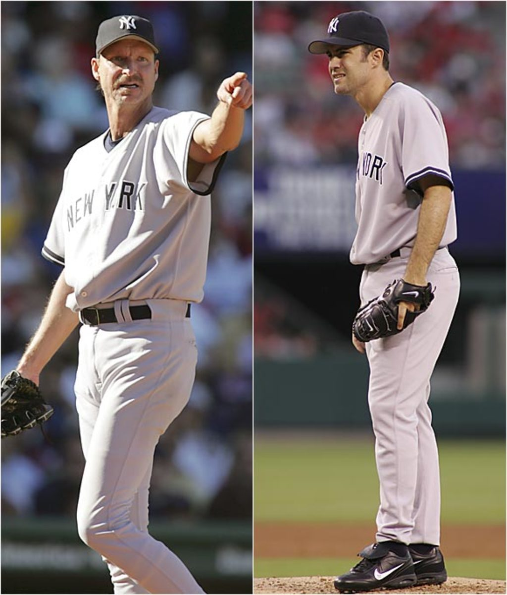 Randy Johnson and <br>Mike Mussina