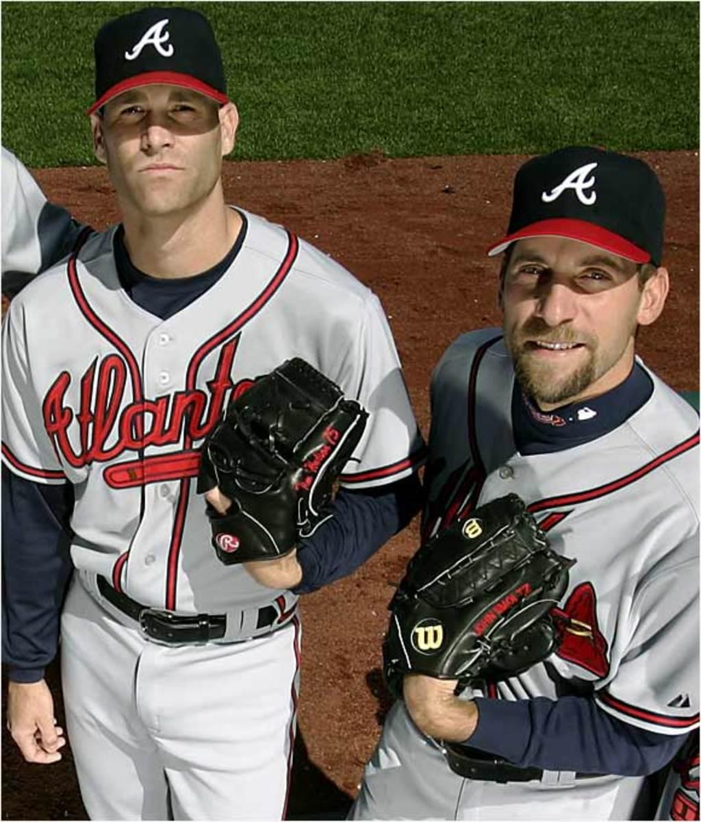 Tim Hudson and <br> John Smoltz